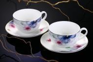 Набір для чаю Aquarelle 12 предметів на 6 персон Fiora