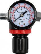 Редукційний клапан YATO пневматичний з манометром YT-2381