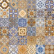 Плитка Tiger Кафель мозаика (4,1x4,1) 25x25