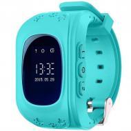 Детские умные часы MHZ Smart Watch GPS трекер Q50/G36 Blue (005430)