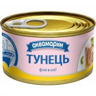 Консерва Аквамарин Тунець філе в олії № 1 85 г