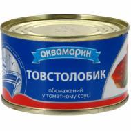 Консерва Аквамарин Товстолобик обсмажений в томатному соусі № 5 230 г