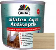 Просочувач Dufa dufatex Aqua Antiseptik безбарвний шовковистий глянець 0,75 л