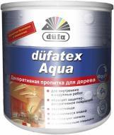 Лазурь Dufa dufatex Aqua шелковистый глянец бесцветный 0,75 л