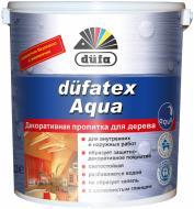 Лазурь Dufa dufatex Aqua шелковистый глянец белый 2,5 л