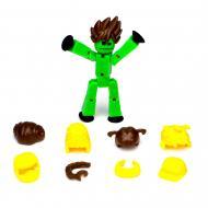 Фигурка для анимационного творчества Stikbot c париками Зеленая (pr000293)