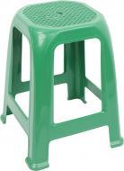 Табурет пластиковий Алеана Піф 46,3x36,5x36,5 см зелений