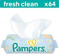 Дитячі вологі серветки Pampers Fresh Clean 128 шт.