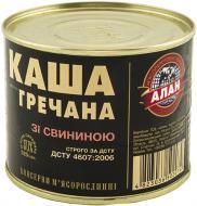 Консерва Алан каша гречневая со свининой 525 г