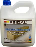 Грунтовка фунгицидная Feidal Holz Grundierung для древесины 2.5 л