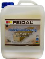 Ґрунтовка фунгіцидна Feidal Holz Grundierung для деревини 5 л
