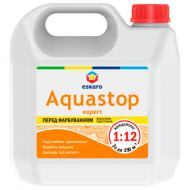 Грунтовка глубокопроникающая Eskaro Aquastop Expert концентрат 1:12 3 л
