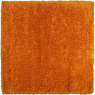 Килимок Balta Luxury Shaggy 160х160 см СТОК помаранчевий