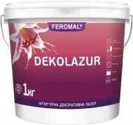 Лазур Feromal DEKOLAZUR ULTRA з вмістом голографічних блискіток 1кг