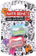 Чинка для олівця пластикова 2шт/уп TM NB Nota Bene