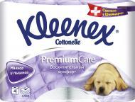 Туалетний папір Kleenex Premium Care чотиришаровий 4 шт.
