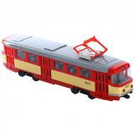 Трамвай Play Smart Красно-желтый (9708-B)