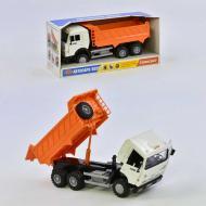 Инерционная машинка Play Smart Самосвал 9099 А Оранжевая с белым (2-9099А-2492)