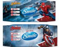 Детские влажные салфетки Smile Marvel 72 шт.