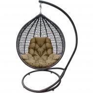 Кресло-кокон Bagland 1200х750х1050 мм с подушкой коричневый (22990)
