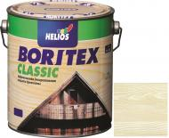 Лазурь Helios Boritex Classic 13 белый мат 2,5 л