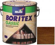 Лазурь Helios Boritex Classic 4 орех мат 0,75 л