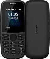 Мобильный телефон Nokia 105 DS 2019 black (118707)