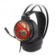 Навушники A4Tech (G650S Bloody) помаранчеве підсвічування, USB