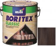 Лазурь Helios Boritex Classic 9 палисандр мат 2,5 л