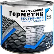 Герметик каучуковий Aqua Protect для екстренного ремонту покрівлі 1.8 кг