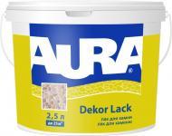 Лак фасадний для каменю Dekor Lack Aura напівглянець 2,5 л