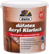 Лак панельний Dufatex Acryl Klarlack Dufa глянець прозорий 2,5 л