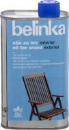 Масло Belinka Oil For Wood Exterier не создает пленку 0,5 л
