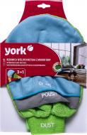 Салфетка-перчатка York из микрофибры 3в1