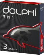 Презервативи Dolphi 3 in 1 3 шт.