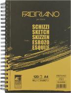 Альбом для малювання Schizzi Sketch А4 120 аркушів 90г/м2 на спіралі Fabriano