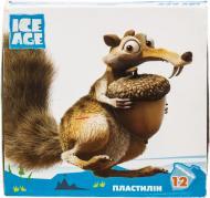 Пластилін  Ice Age 12 кольорів 240 г IA09603 Cool For School