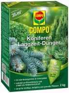 Добриво для хвойних рослин COMPO довготривалий ефект 2 кг 1579