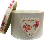 Короб текстильний з кришкою Квіти 20х16 см FB-24 Handy Home