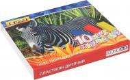 Пластилін  AFRICA 10 кольорів 200 гр. E60607 Economix