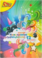Набір кольорового картону  А4 6 кольорів 12 арк. 175120 Olli
