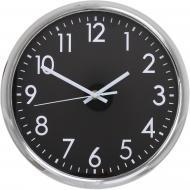 Годинник настінний Basic 27,9х3,9 см срібно-чорний UP! (Underprice)
