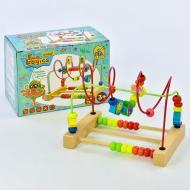 Детский деревянный пальчиковый лабиринт Fun Game Fun Logics 7371 Разноцветный (2-7371-71824)