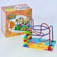 Детский деревянный пальчиковый лабиринт Fun Game Fun Logics 7378 Разноцветный ( 2-7378-71821)