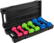 Набор гантелей Energetics 180348 Neoprene Dumbbell Set 6 шт.