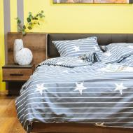 Комплект постільної білизни Stars 1,5 сіро-синій UP! (Underprice)