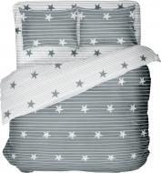 Комплект постільної білизни Stars 2,0 сіро-зелений UP! (Underprice)