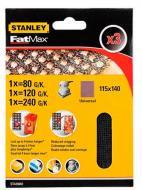 Сітка абразивна Stanley STA39082 115 х 140 мм