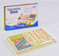 Деревянная игра Calculating box Математика С 35660 Разноцветная (2-С35660-76305)