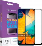 Захисне скло MakeFuture Full Cover Full Glue для Samsung A30/A30s/A50/A50s/M30 (MGF-SA30/A50)